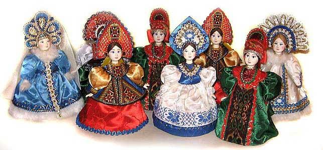 Куклы в русском костюме своими руками мастер класс